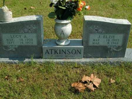 ATKINSON, LUCY A. - Boone County, Arkansas   LUCY A. ATKINSON - Arkansas Gravestone Photos