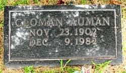 AUMAN, CLOMAN - Boone County, Arkansas | CLOMAN AUMAN - Arkansas Gravestone Photos