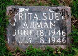 AUMAN, RITA SUE - Boone County, Arkansas   RITA SUE AUMAN - Arkansas Gravestone Photos