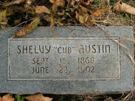 AUSTIN, SHELVY - Boone County, Arkansas | SHELVY AUSTIN - Arkansas Gravestone Photos