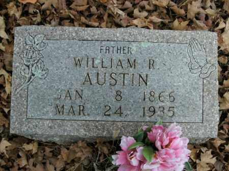 AUSTIN, WILLIAM R. - Boone County, Arkansas | WILLIAM R. AUSTIN - Arkansas Gravestone Photos