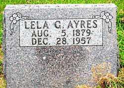 AYRES, LELA G. - Boone County, Arkansas | LELA G. AYRES - Arkansas Gravestone Photos