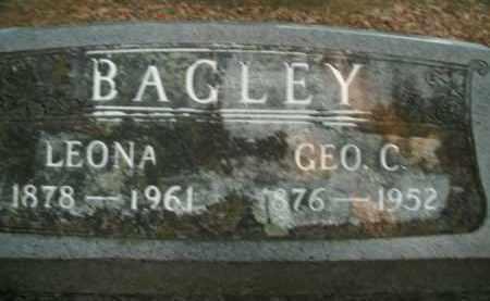 BAGLEY, GEORGE C. - Boone County, Arkansas | GEORGE C. BAGLEY - Arkansas Gravestone Photos