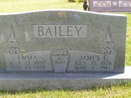 BAILEY, EMMA - Boone County, Arkansas | EMMA BAILEY - Arkansas Gravestone Photos