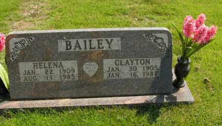 BAILEY, CLAYTON - Boone County, Arkansas | CLAYTON BAILEY - Arkansas Gravestone Photos