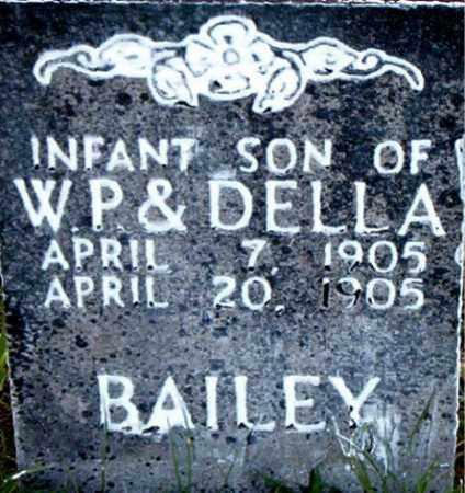 BAILEY, INFANT SON - Boone County, Arkansas   INFANT SON BAILEY - Arkansas Gravestone Photos