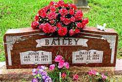 BAILEY, JOHN ERVIN - Boone County, Arkansas | JOHN ERVIN BAILEY - Arkansas Gravestone Photos
