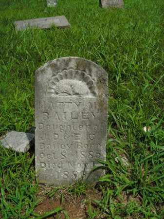BAILEY, MATTY M. - Boone County, Arkansas | MATTY M. BAILEY - Arkansas Gravestone Photos