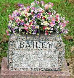 BAILEY, MITCHELL BLAINE - Boone County, Arkansas | MITCHELL BLAINE BAILEY - Arkansas Gravestone Photos