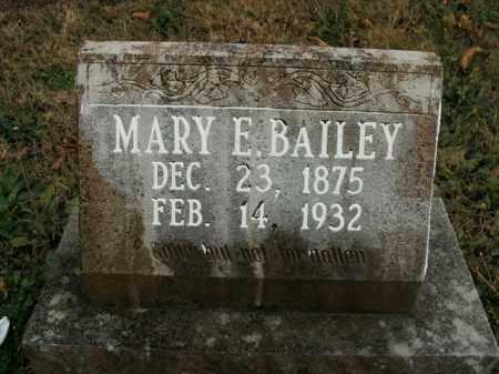 BAILEY, MARY E. - Boone County, Arkansas | MARY E. BAILEY - Arkansas Gravestone Photos