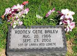 BAILEY, RODNEY GENE - Boone County, Arkansas | RODNEY GENE BAILEY - Arkansas Gravestone Photos
