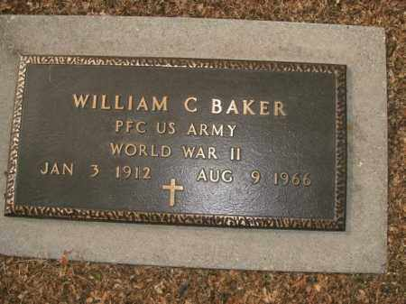 BAKER  (VETERAN WWII), WILLIAM C - Boone County, Arkansas | WILLIAM C BAKER  (VETERAN WWII) - Arkansas Gravestone Photos