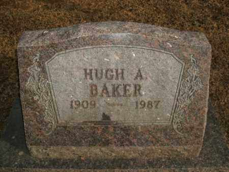 BAKER, HUGH A. - Boone County, Arkansas | HUGH A. BAKER - Arkansas Gravestone Photos
