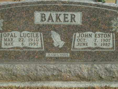 BAKER, OPAL LUCILE - Boone County, Arkansas | OPAL LUCILE BAKER - Arkansas Gravestone Photos