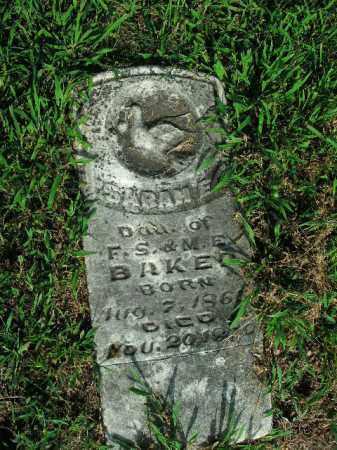 BAKER, SARAH E. - Boone County, Arkansas | SARAH E. BAKER - Arkansas Gravestone Photos