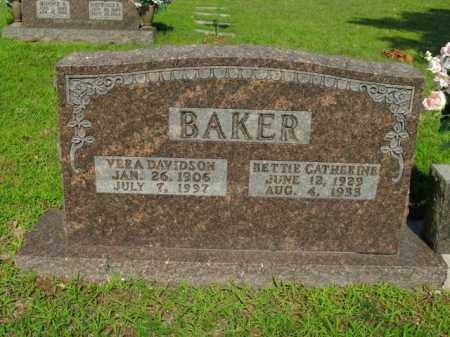 BAKER, BETTIE CATHERINE - Boone County, Arkansas | BETTIE CATHERINE BAKER - Arkansas Gravestone Photos