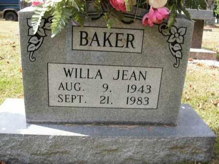 BAKER, WILLA JEAN - Boone County, Arkansas | WILLA JEAN BAKER - Arkansas Gravestone Photos