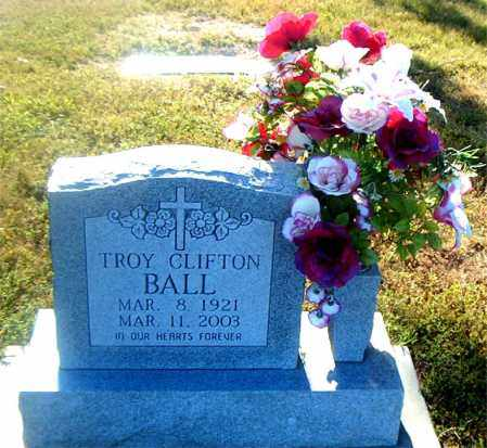 BALL, TROY CLIFTON - Boone County, Arkansas | TROY CLIFTON BALL - Arkansas Gravestone Photos
