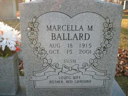 BALLARD, MARCELLA M. - Boone County, Arkansas | MARCELLA M. BALLARD - Arkansas Gravestone Photos