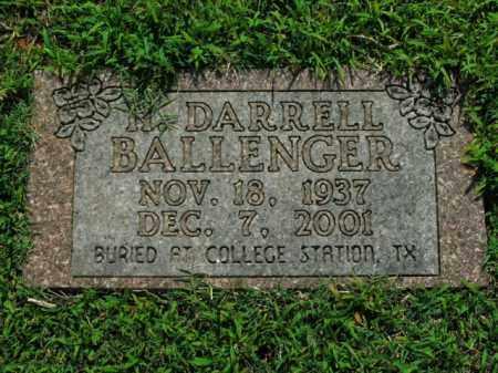 BALLENGER, H. DARRELL - Boone County, Arkansas | H. DARRELL BALLENGER - Arkansas Gravestone Photos