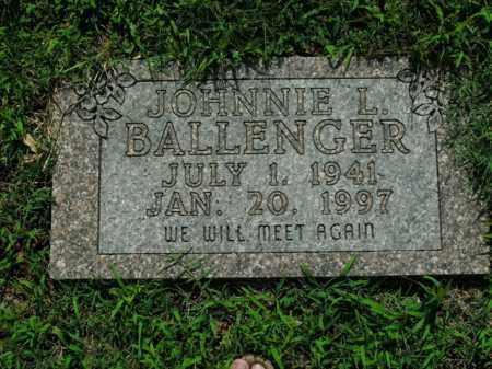 BALLENGER, JOHNNIE L. - Boone County, Arkansas   JOHNNIE L. BALLENGER - Arkansas Gravestone Photos