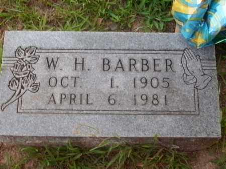 BARBER, W.H. - Boone County, Arkansas | W.H. BARBER - Arkansas Gravestone Photos