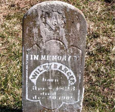 BARGER, WILEY - Boone County, Arkansas | WILEY BARGER - Arkansas Gravestone Photos