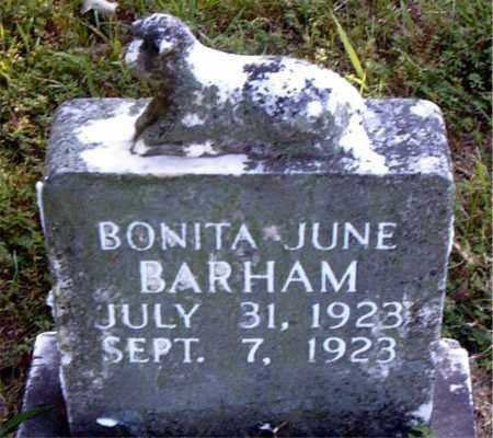 BARHAM, BONITA JUNE - Boone County, Arkansas | BONITA JUNE BARHAM - Arkansas Gravestone Photos