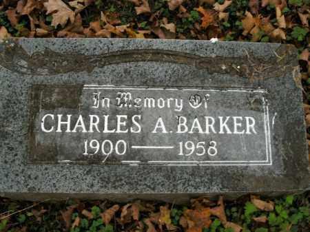 BARKER, CHARLES ARVEL - Boone County, Arkansas   CHARLES ARVEL BARKER - Arkansas Gravestone Photos