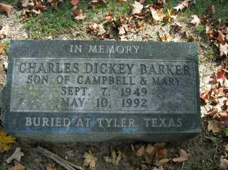 BARKER, CHARLES DICKEY - Boone County, Arkansas   CHARLES DICKEY BARKER - Arkansas Gravestone Photos