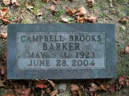 BARKER, CAMPBELL BROOKS - Boone County, Arkansas | CAMPBELL BROOKS BARKER - Arkansas Gravestone Photos
