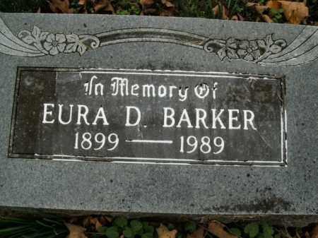 BARKER, EURA D. - Boone County, Arkansas | EURA D. BARKER - Arkansas Gravestone Photos