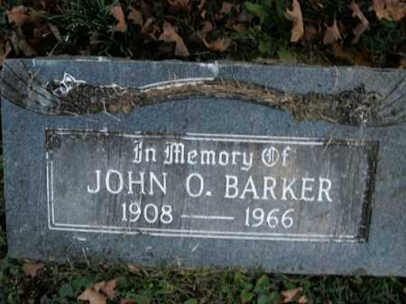 BARKER, JOHN O. - Boone County, Arkansas | JOHN O. BARKER - Arkansas Gravestone Photos
