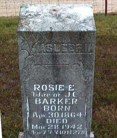 BARKER, ROSIE E. - Boone County, Arkansas   ROSIE E. BARKER - Arkansas Gravestone Photos