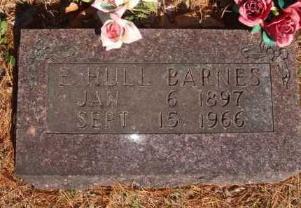 BARNES, E. HULL - Boone County, Arkansas   E. HULL BARNES - Arkansas Gravestone Photos
