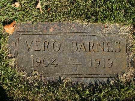 BARNES, VERO - Boone County, Arkansas | VERO BARNES - Arkansas Gravestone Photos
