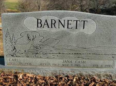 CASH BARNETT, JANA - Boone County, Arkansas   JANA CASH BARNETT - Arkansas Gravestone Photos