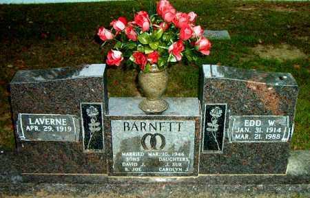 BARNETT, EDD   W. - Boone County, Arkansas   EDD   W. BARNETT - Arkansas Gravestone Photos