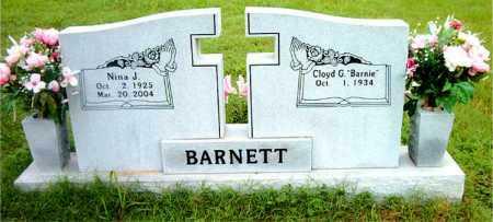 BARNETT, NINA J. - Boone County, Arkansas   NINA J. BARNETT - Arkansas Gravestone Photos