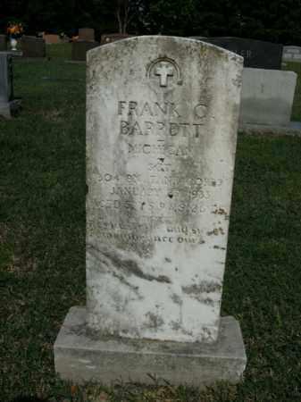 BARRETT  (VETERAN), FRANK C. - Boone County, Arkansas   FRANK C. BARRETT  (VETERAN) - Arkansas Gravestone Photos