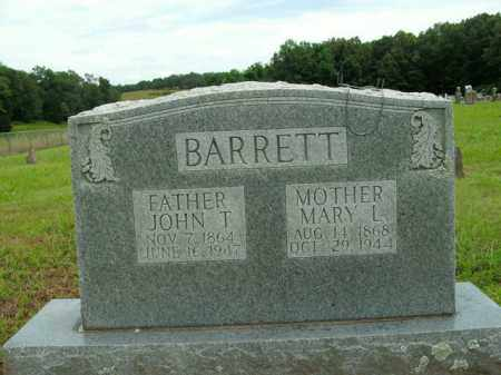 BARRETT, MARY L. - Boone County, Arkansas | MARY L. BARRETT - Arkansas Gravestone Photos