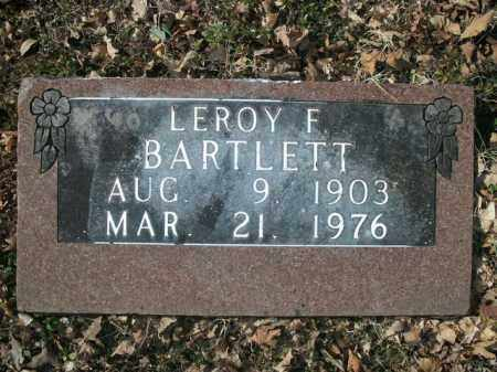 BARTLETT, LEROY F. - Boone County, Arkansas   LEROY F. BARTLETT - Arkansas Gravestone Photos