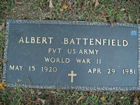 BATTENFIELD  (VETERAN WWII), ALBERT - Boone County, Arkansas | ALBERT BATTENFIELD  (VETERAN WWII) - Arkansas Gravestone Photos