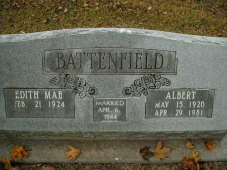 BATTENFIELD, ALBERT - Boone County, Arkansas | ALBERT BATTENFIELD - Arkansas Gravestone Photos