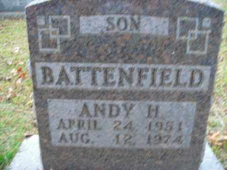 BATTENFIELD, ANDY H. - Boone County, Arkansas   ANDY H. BATTENFIELD - Arkansas Gravestone Photos
