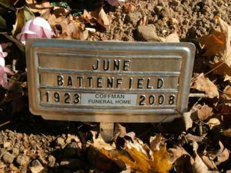 BATTENFIELD, JUNE - Boone County, Arkansas   JUNE BATTENFIELD - Arkansas Gravestone Photos