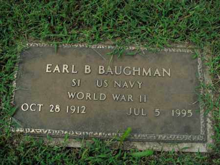BAUGHMAN  (VETERAN WWII), EARL B. - Boone County, Arkansas   EARL B. BAUGHMAN  (VETERAN WWII) - Arkansas Gravestone Photos