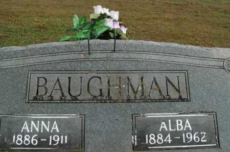 BAUGHMAN, ANNA - Boone County, Arkansas | ANNA BAUGHMAN - Arkansas Gravestone Photos