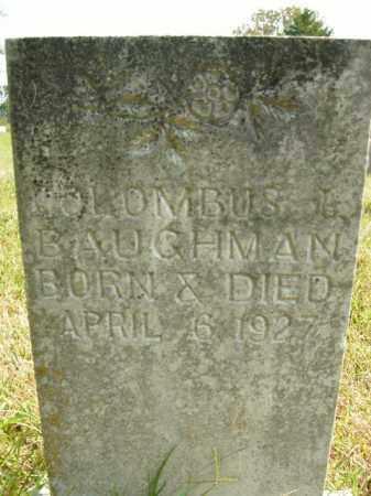 BAUGHMAN, COLOMBUS J. - Boone County, Arkansas | COLOMBUS J. BAUGHMAN - Arkansas Gravestone Photos