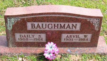 BAUGHMAN, DAILY  S. - Boone County, Arkansas   DAILY  S. BAUGHMAN - Arkansas Gravestone Photos